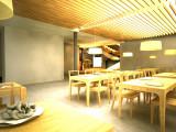 Interior club sek para estudio Aparente, Madrid