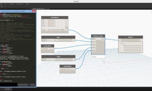 Editor de parametros de texto con Dynamo
