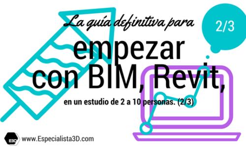 La guía definitiva para empezar con BIM, Revit, en un estudio de dos a diez personas. (2/3)