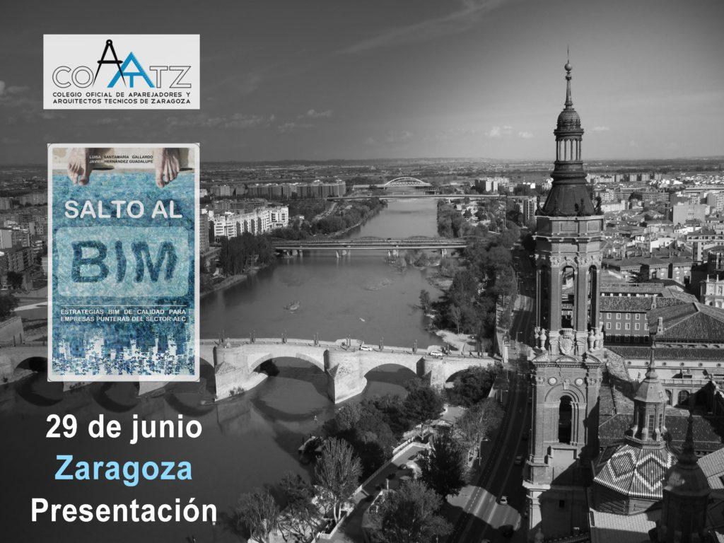 """Ponencia en 360º + Presentación de """"Salto al BIM"""" en el COAATZ"""