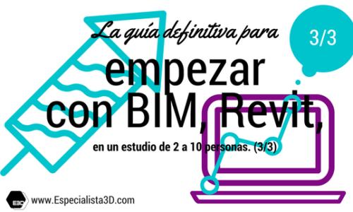 La guía definitiva para empezar con BIM, Revit, en un estudio de 2 a 10 personas (3/3)