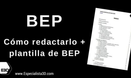 Cómo redactar un BEP (Bim execution Plan)