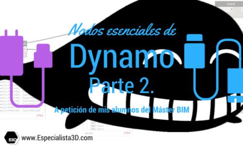 Nodos esenciales de Dynamo. Parte 2. Nodos de operaciones con Listas