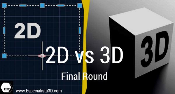 2D vs 3D en proyectos de Arquitectura