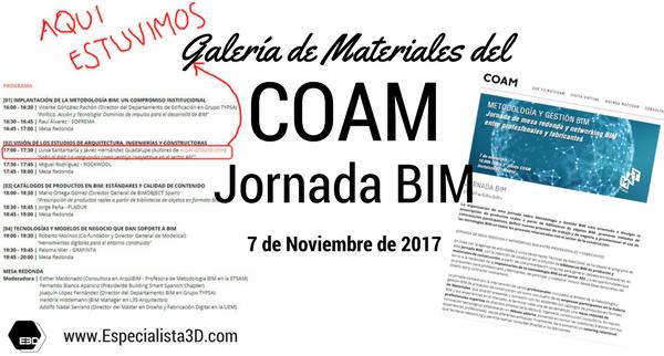 Jornada BIM en el COAM
